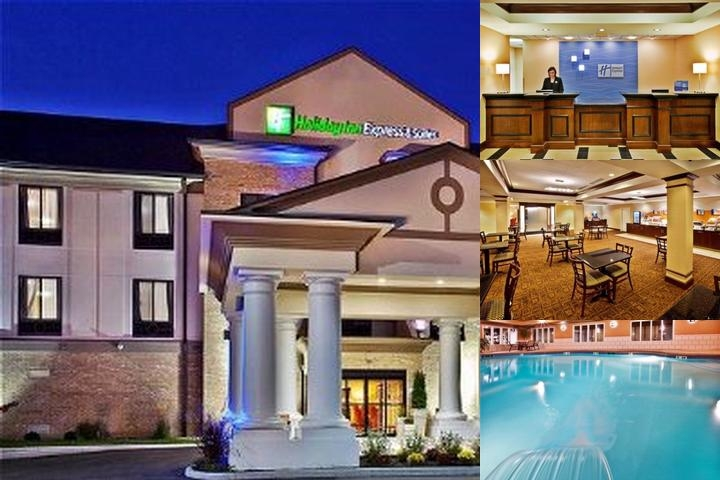 Holiday Inn Express Hotel & Suites Crawfordsville photo collage