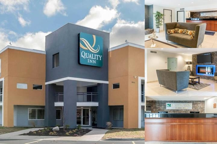 Quality Inn Indianapolis North photo collage