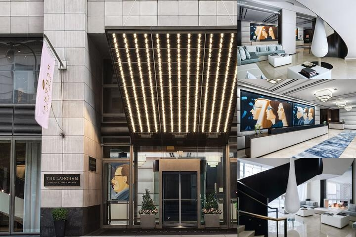 The Langham New York Fifth Avenue photo collage