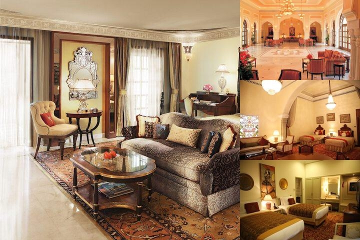 Rambagh Palace photo collage