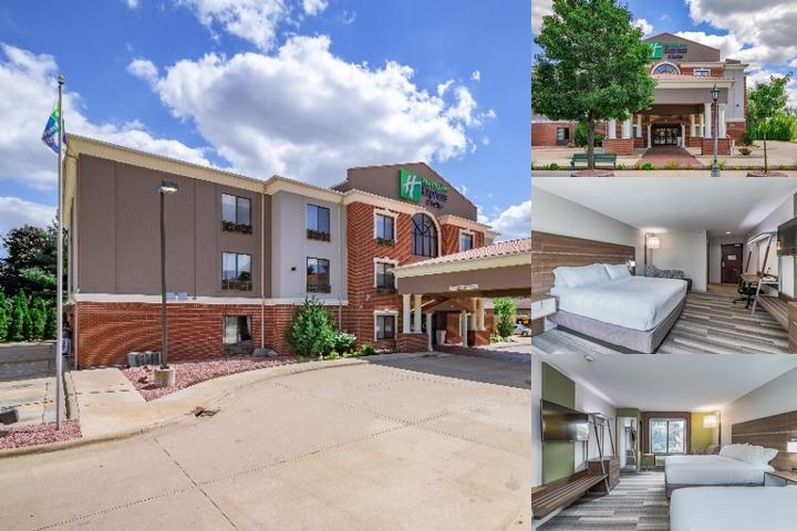 Holiday Inn Express Hotel & Suites South Bend photo collage