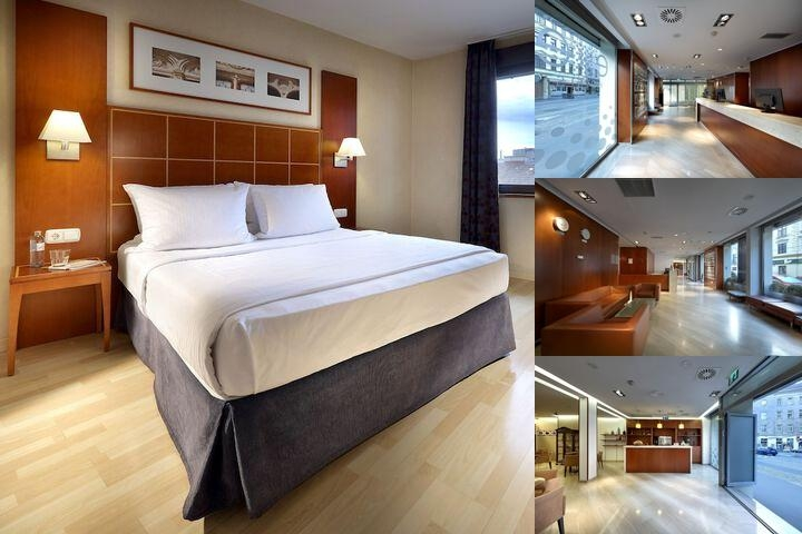 Hotel Exe Vienna photo collage