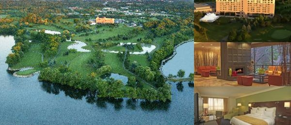 The Ann Arbor Marriott at Eagle Crest Resort photo collage