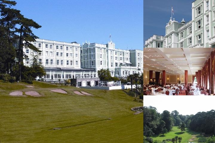 The Palace Hotel photo collage