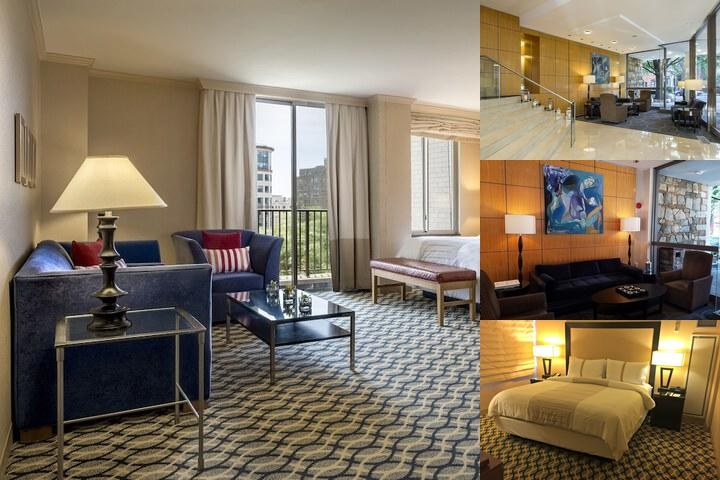 One Washington Circle Hotel photo collage