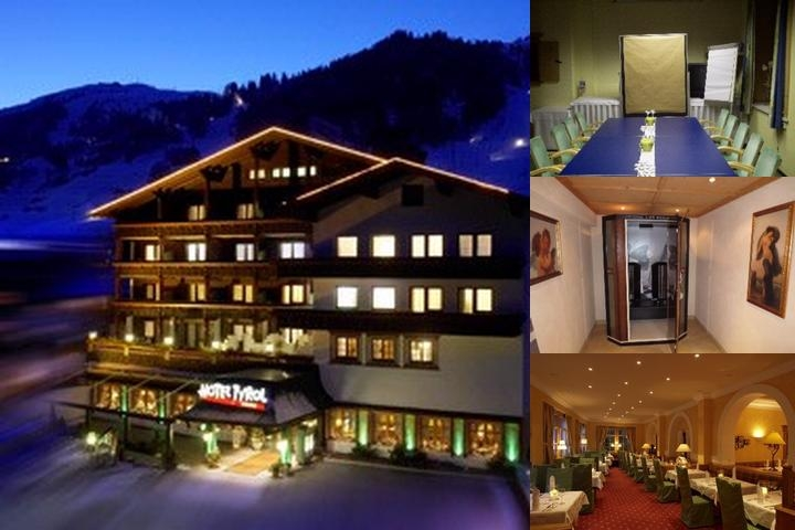 Raffl´s Tyrol Hotel photo collage