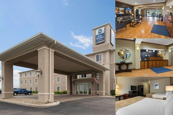 Best Western Legacy Inn & Suites Beloit South Beloit photo collage