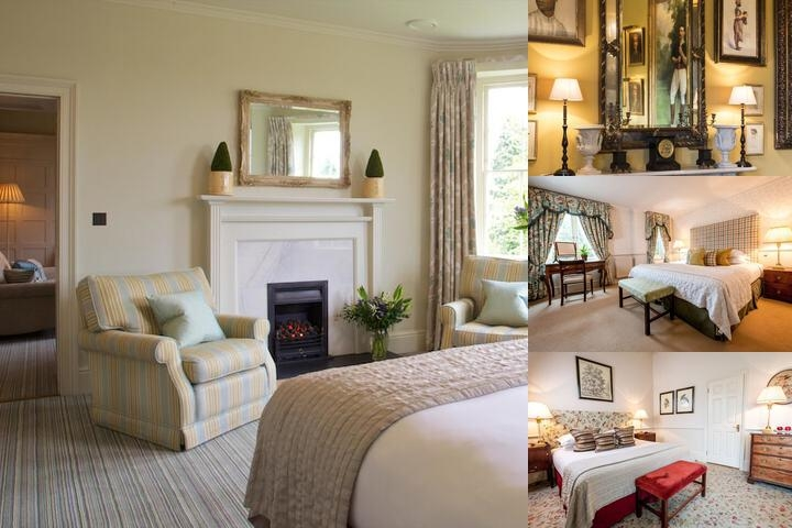 The Bath Priory Hotel photo collage