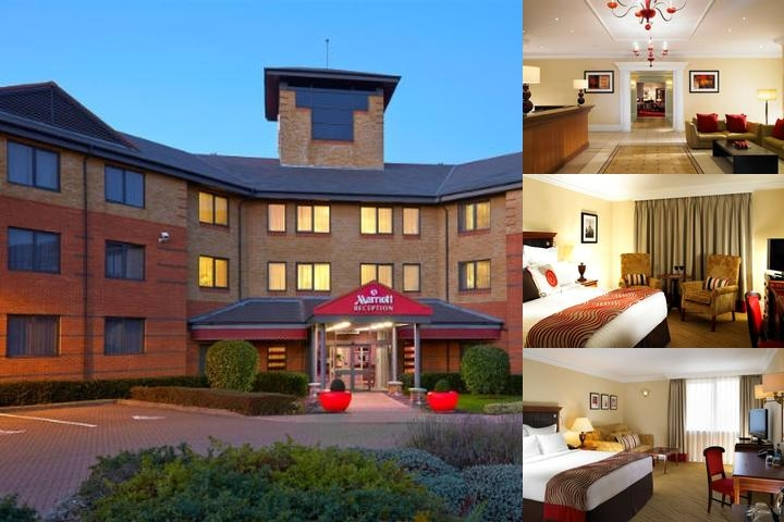 Huntingdon Marriott Hotel photo collage