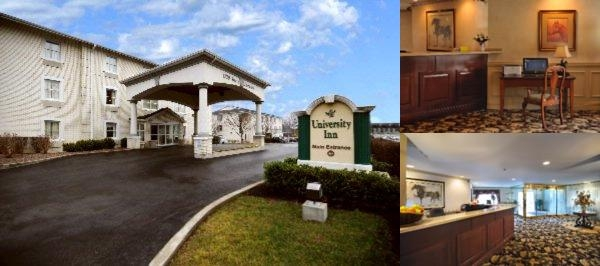 University Inn Hotel photo collage