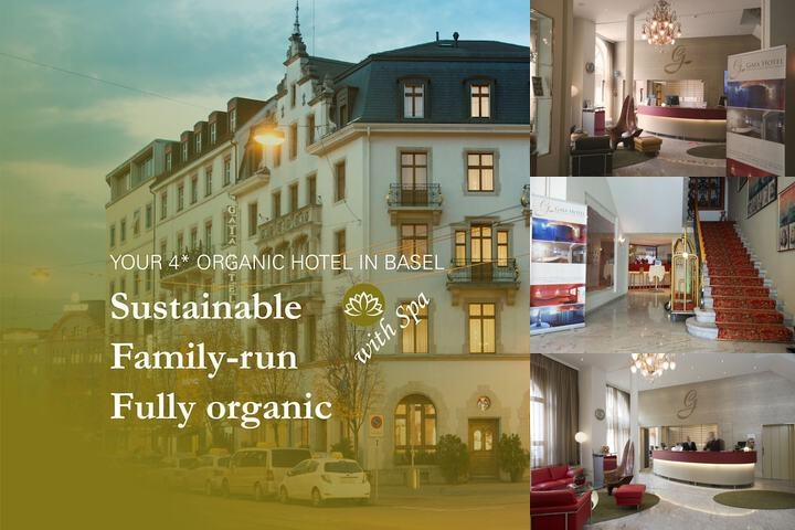 Hotel St. Gotthard Basel photo collage
