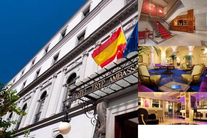 Tryp Madrid Ambassador Hotel photo collage