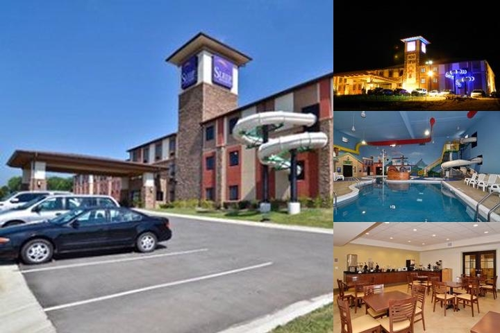 Sleep Inn & Suites at the Liberty Lagoon photo collage