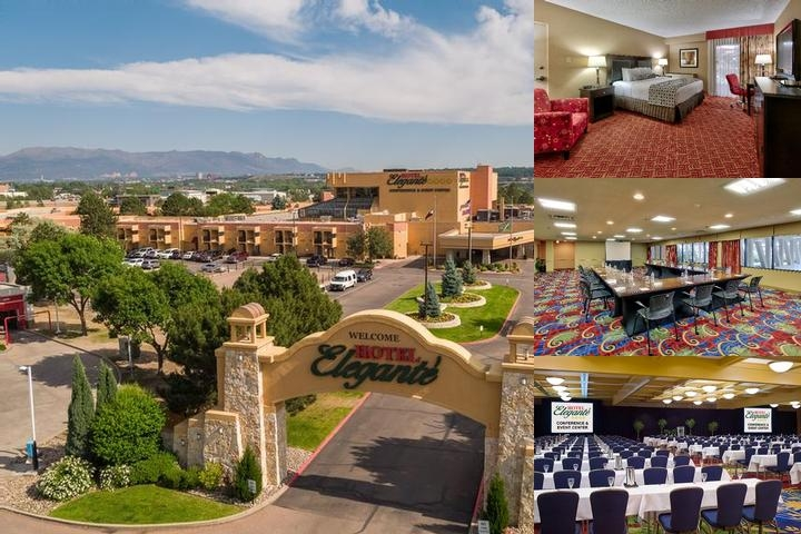 Hotel Elegante Conference & Event Center photo collage