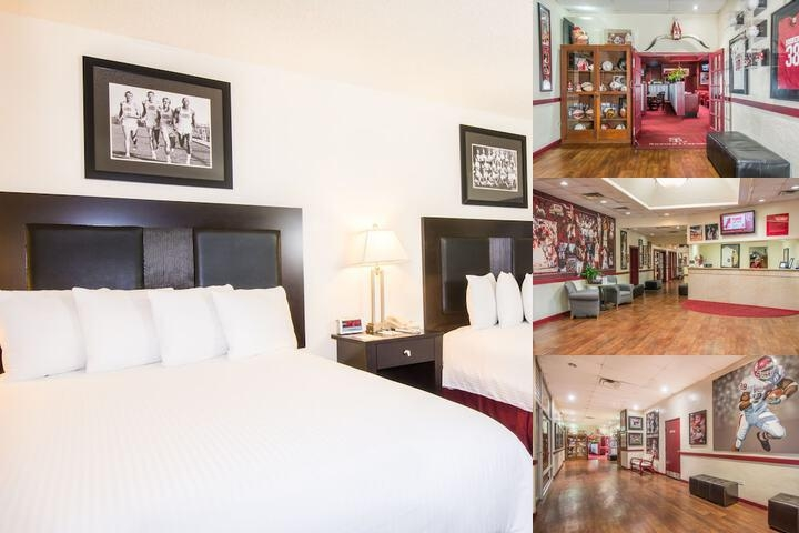 Sooner Legends Inn & Suites photo collage