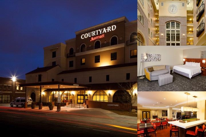 Courtyard by Marriott Wichita at Old Town photo collage