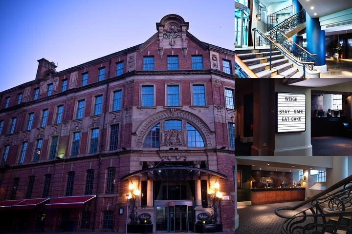 Malmaison Leeds photo collage
