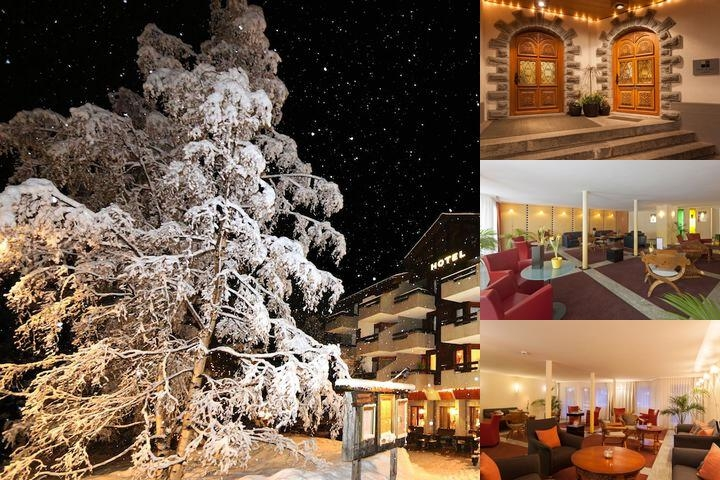 Hotel Allalin Saas Fee photo collage