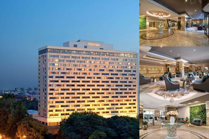 The Westin Zagreb photo collage