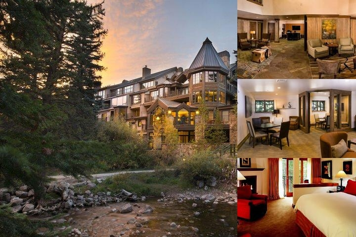 Vail Mountain Lodge photo collage