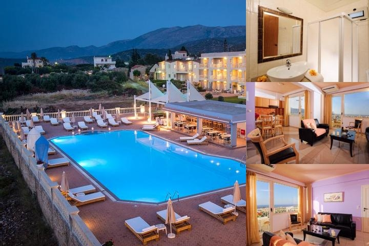 Notos Hotel & Suites Malia photo collage