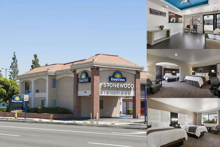 Days Inn Stonewood Downey photo collage