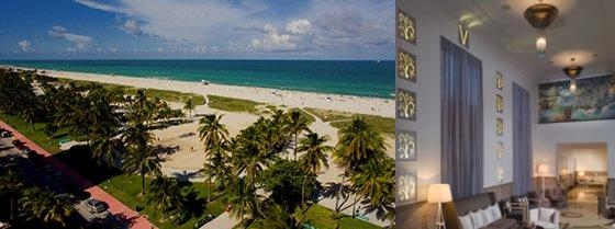 Hotel Victor South Beach photo collage