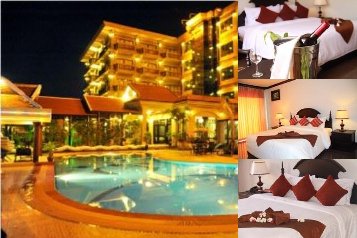 Tsp Lucky Angkor Hotel photo collage