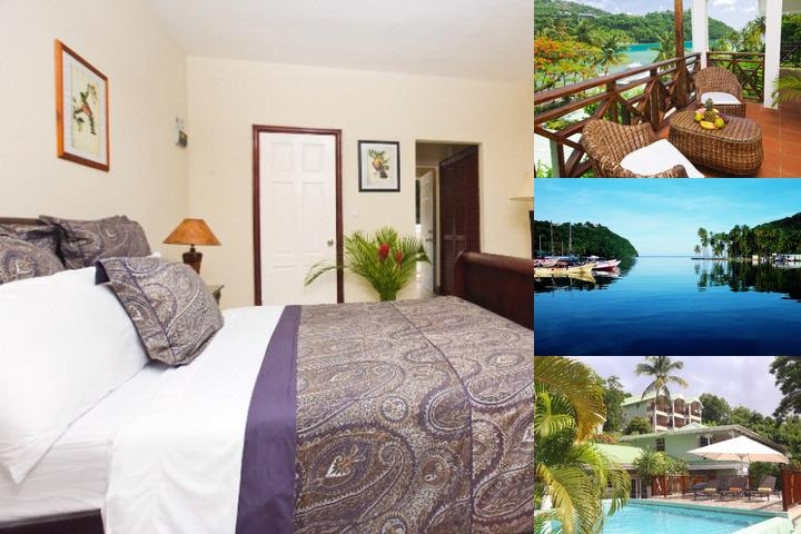 Marigot Beach Club & Dive Resort photo collage