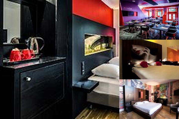 Hampshire Designhotel Maastricht photo collage