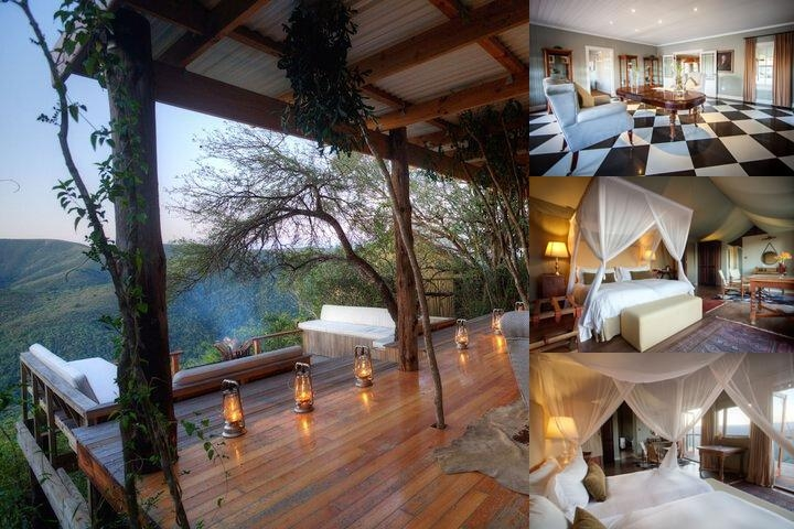 Camp Figtree Private Game Lodge photo collage
