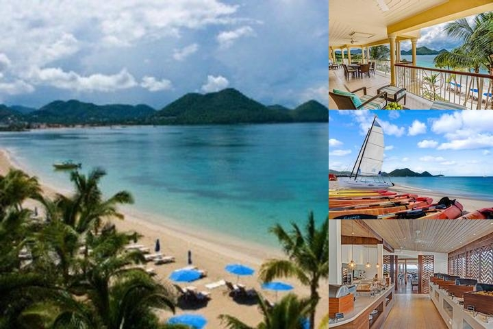 The Landings St. Lucia photo collage