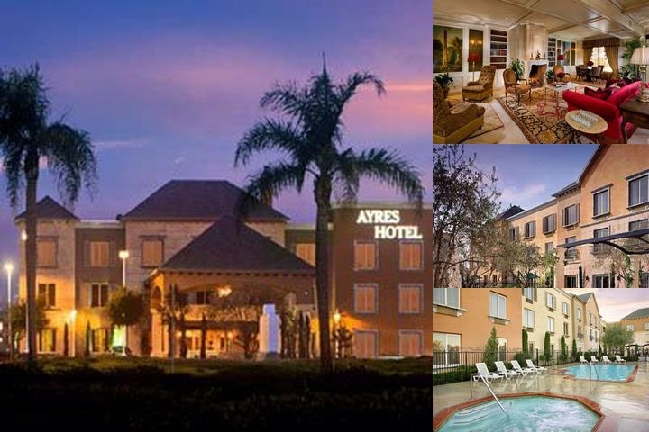 Ayres Hotel Seal Beach photo collage