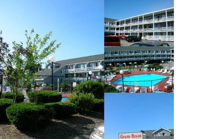 Grand Beach Inn photo collage
