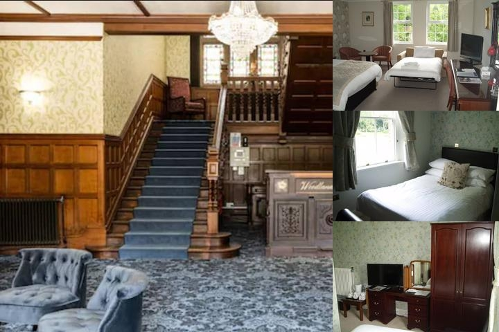 Woodland Manor Hotel photo collage