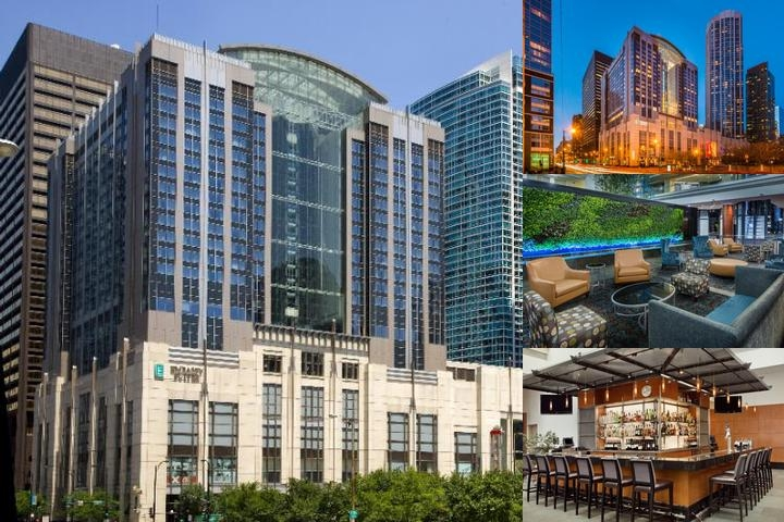 Embassy Suites Chicago Downtown / Lakefont photo collage