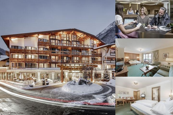 Das Central Alpine . Luxury . Life photo collage