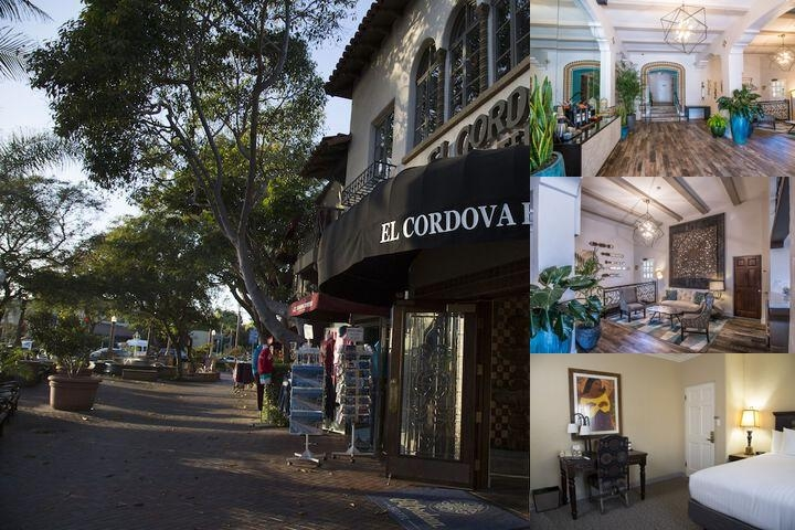 El Cordova Hotel photo collage
