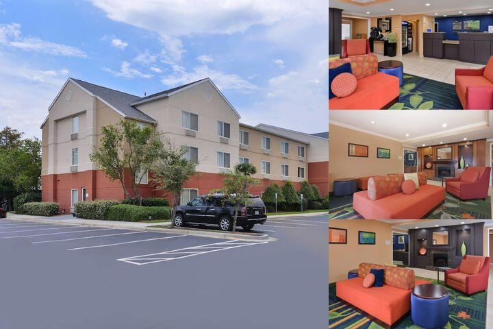 The Fairfield Inn & Suites Gulfport photo collage