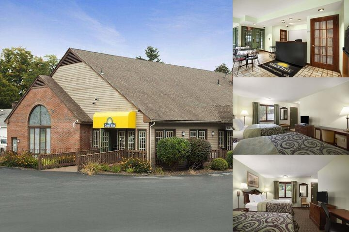 Berkshire Days Inn photo collage