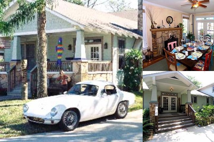 Anchor Inn New Smyrna Beach photo collage