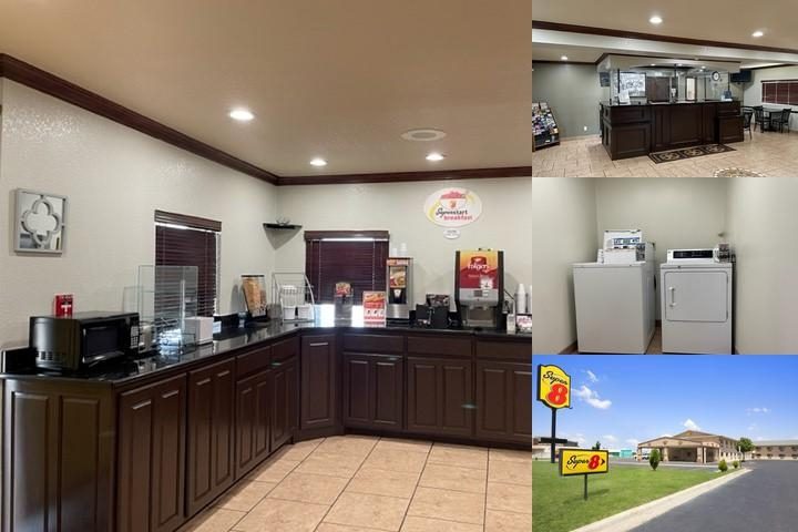 Newly Renovated Super 8 Motel photo collage