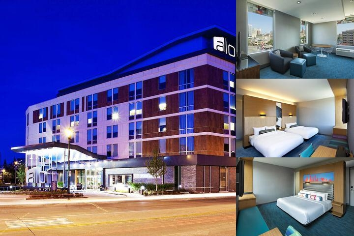 Aloft Milwaukee Downtown photo collage
