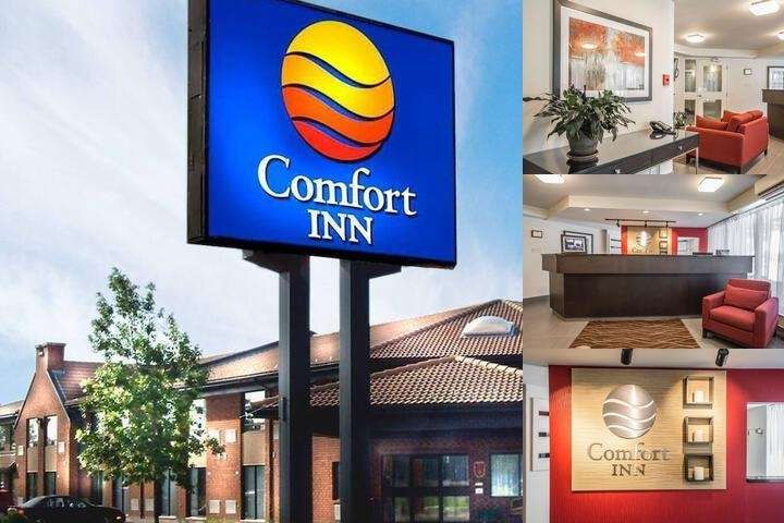 Comfort Inn Sherbrooke photo collage