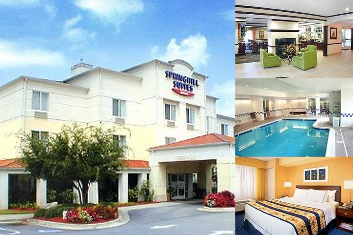 Springhill Suites Atlanta Six Flags photo collage