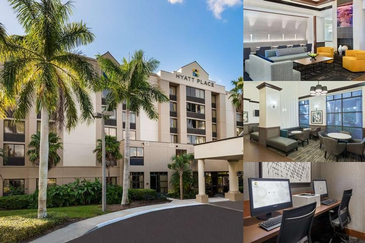 Hyatt Place Ft. Luaderdale / Plantation photo collage
