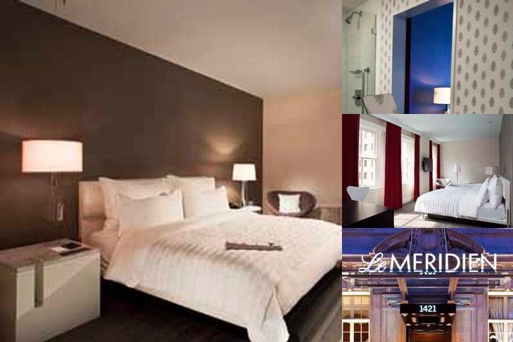 Le Meridien Philadelphia photo collage