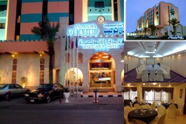 Golden Tulip Andalusia Riyadh photo collage