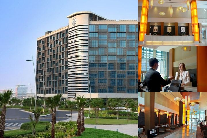Yas Island Rotana Abu Dhabi photo collage