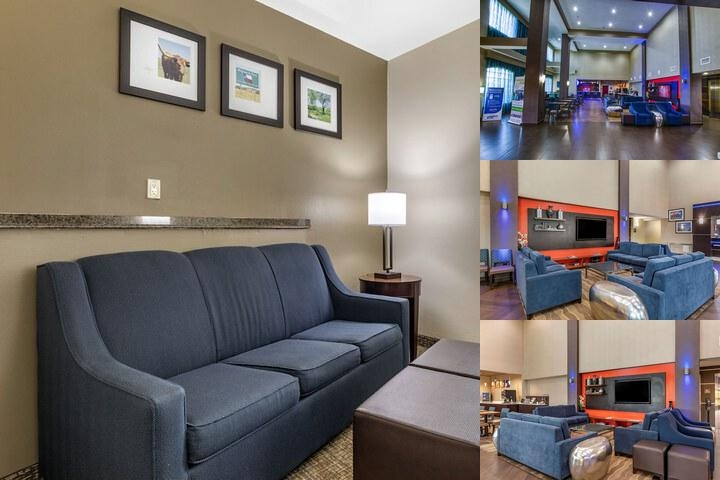 Comfort Suites Baylor North photo collage